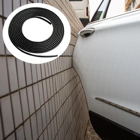 YIJINSHENG Door Protection Strips Rubber Edge Doors Moldings Side Protector Sticker Scratches Vehicle For Cars Auto Car styling yi 221 door guard protector decorative sticker for auto car white 4 pcs