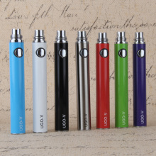 100pcs/lot ugo v USB Passthrough Evod battery micro charger battery ugo e-cigarette battery fit ce4/5 mt3 h2 atomizer ego e cig