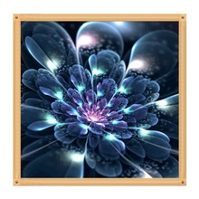 Full round diamond 5D DIY painting dream flower embroidery cross stitch mosaic decorative gift
