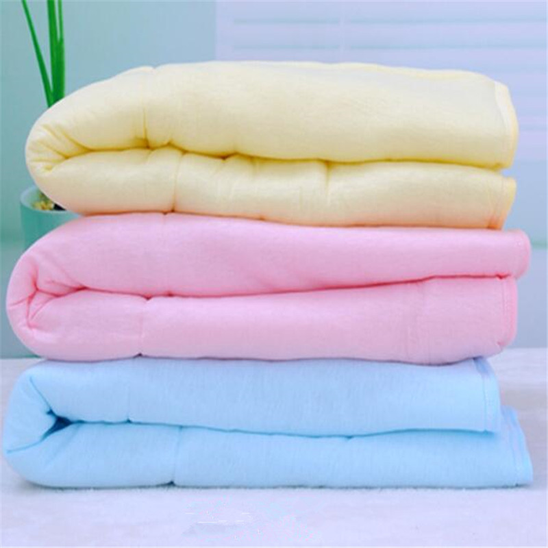 Infant Baby Swaddle Wrap Blanket <font><b>Sleeping</b></font> Bag Cotton Animal baby product Toddler Sleep Sack Bedding 3 Colors Warm Thick Blanket