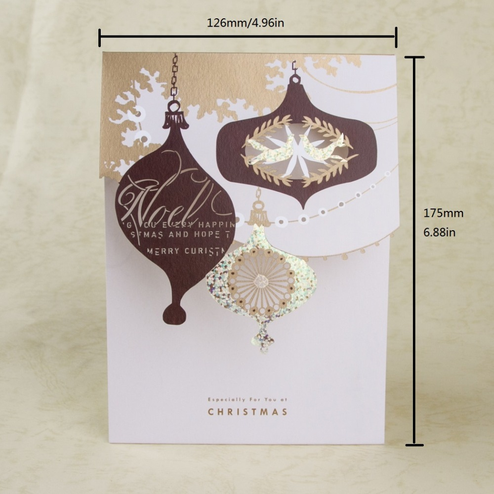christmas card creative laser cut gifts design mini happy new year christmas invitation gifts cards decoration giftsgx1013 on aliexpresscom alibaba group