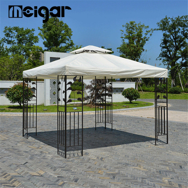 Canvas Yard Tent Canopy Top Roof Cover Patio Sun Shade Cloth Accessories Replacement Garden Supplies 3 3m 10x10ft