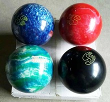 wholesale 4 color 8lbs glow in dark urethane bowling ball