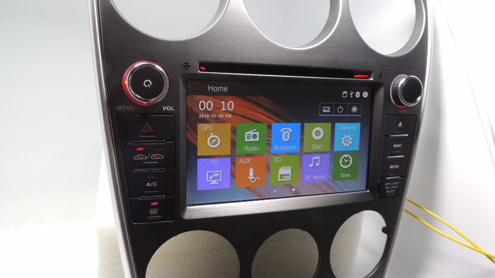 Yokotron\ \7\ Capacitive Touch Car Radio Dvd Autoradio Audio Stereo Rhaliexpress: Mazda 6 Touch Screen Radio Kit At Elf-jo.com