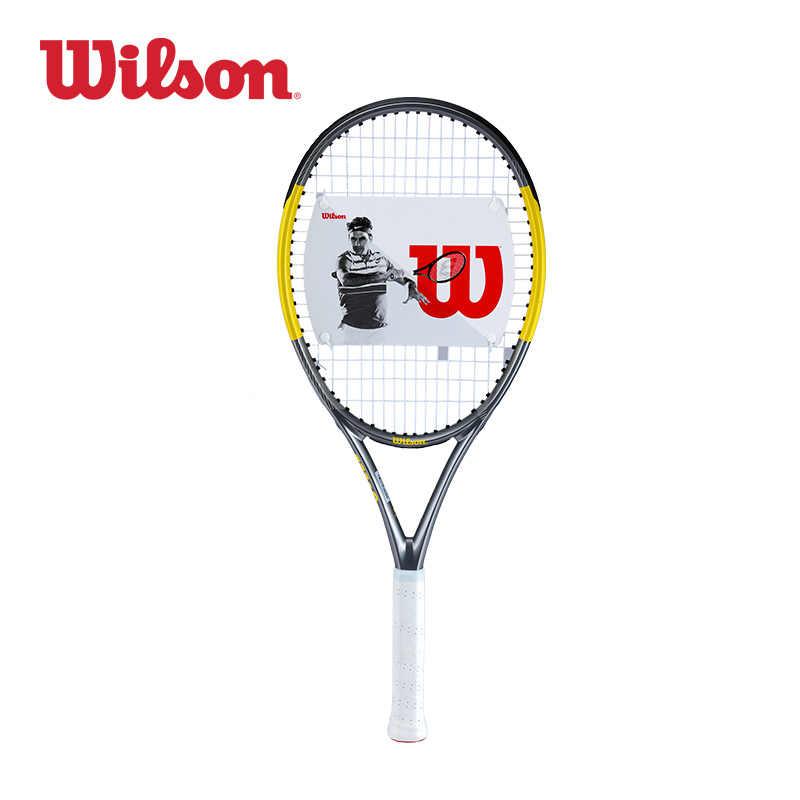 Original Wilson All Carbon Fiber Advanced Tennis Racket Rush 105 China Smu WR007810U2