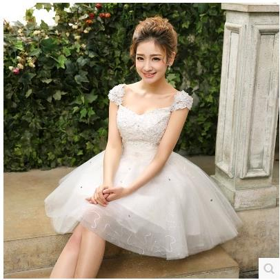 Aliexpress.com : Buy 2017 new arrival vintage short wedding dress ...