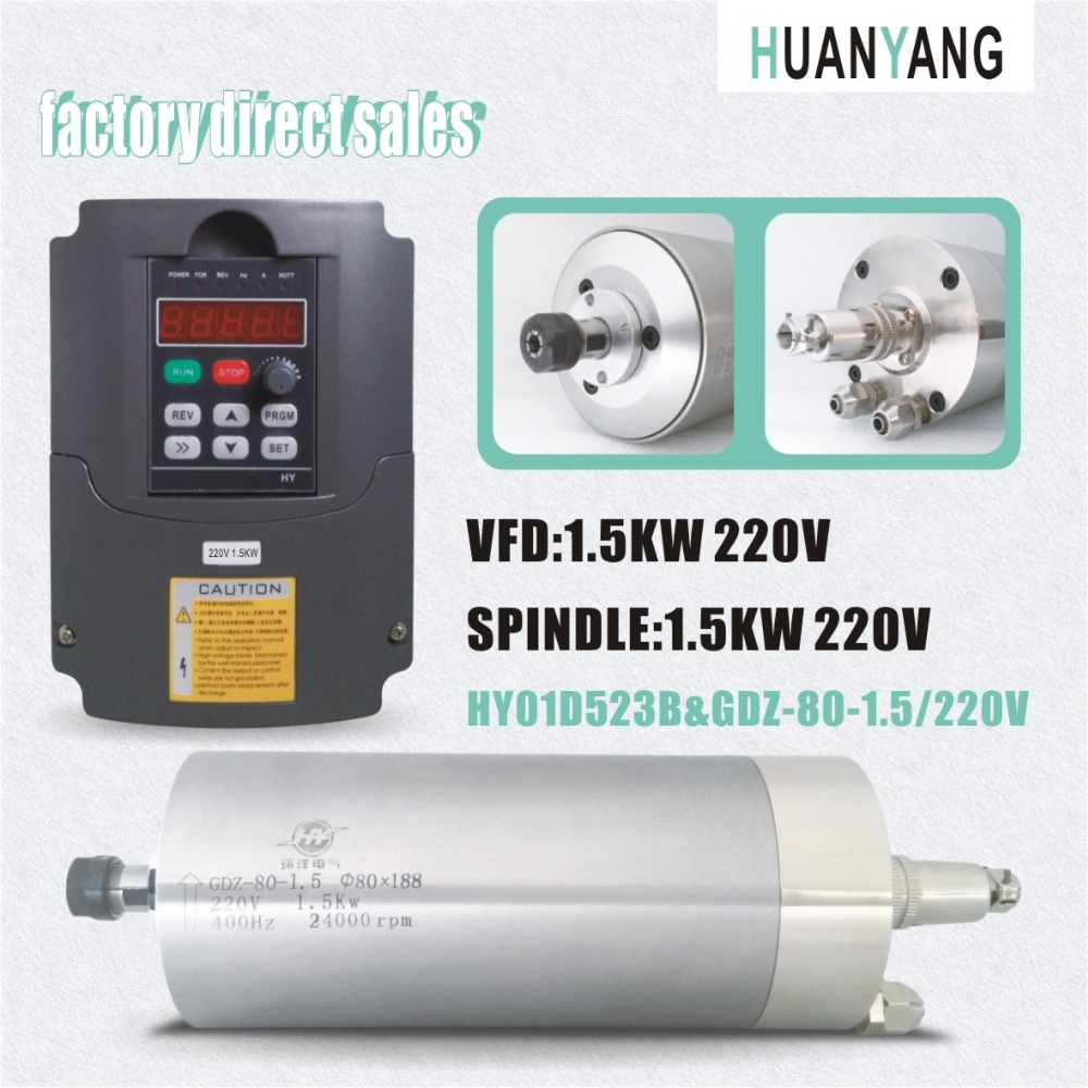 Buy huanyang drives vfd inverters 1 5kw for Vfd for 5hp motor