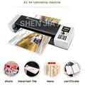 Холодный и Горячий ламинатор A3/A4 бумажная машина для ламинирования фотографий ламинатор документов подходит для офиса дома 1000w