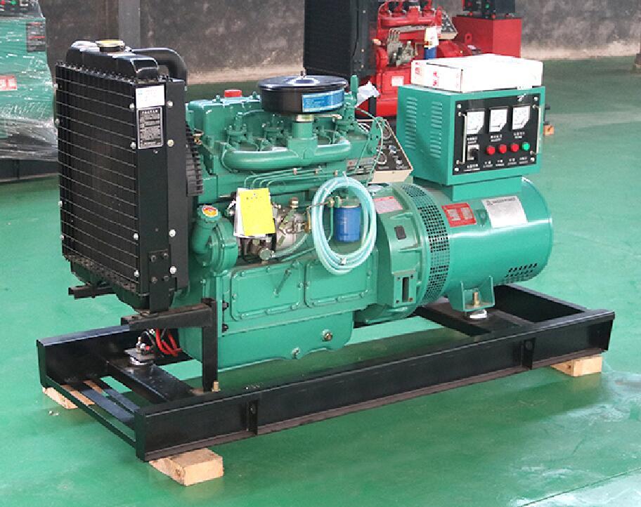 US $1766 05 5% OFF|3 phase diesel genset 24KW diesel generator with K4100D  diesel engine and brush alternator-in Diesel Generators from Home