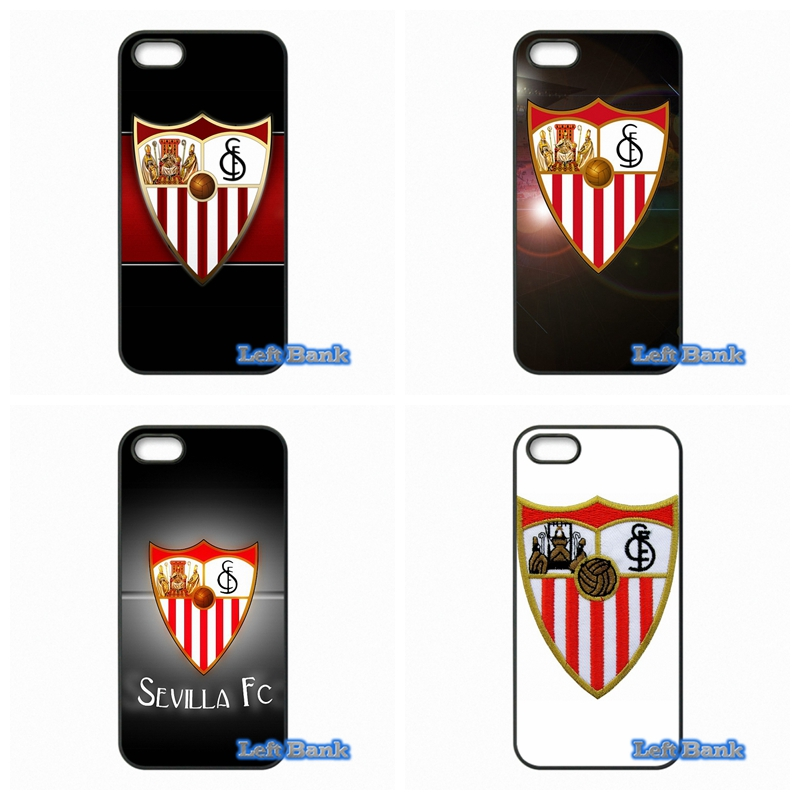 Sevilla FC Logo Hard Phone Case Cover For Huawei Ascend P6 P7 P8 Lite P9 Mate 8 Honor 3C 4C 6 7 4X 5X G7 G8 Plus