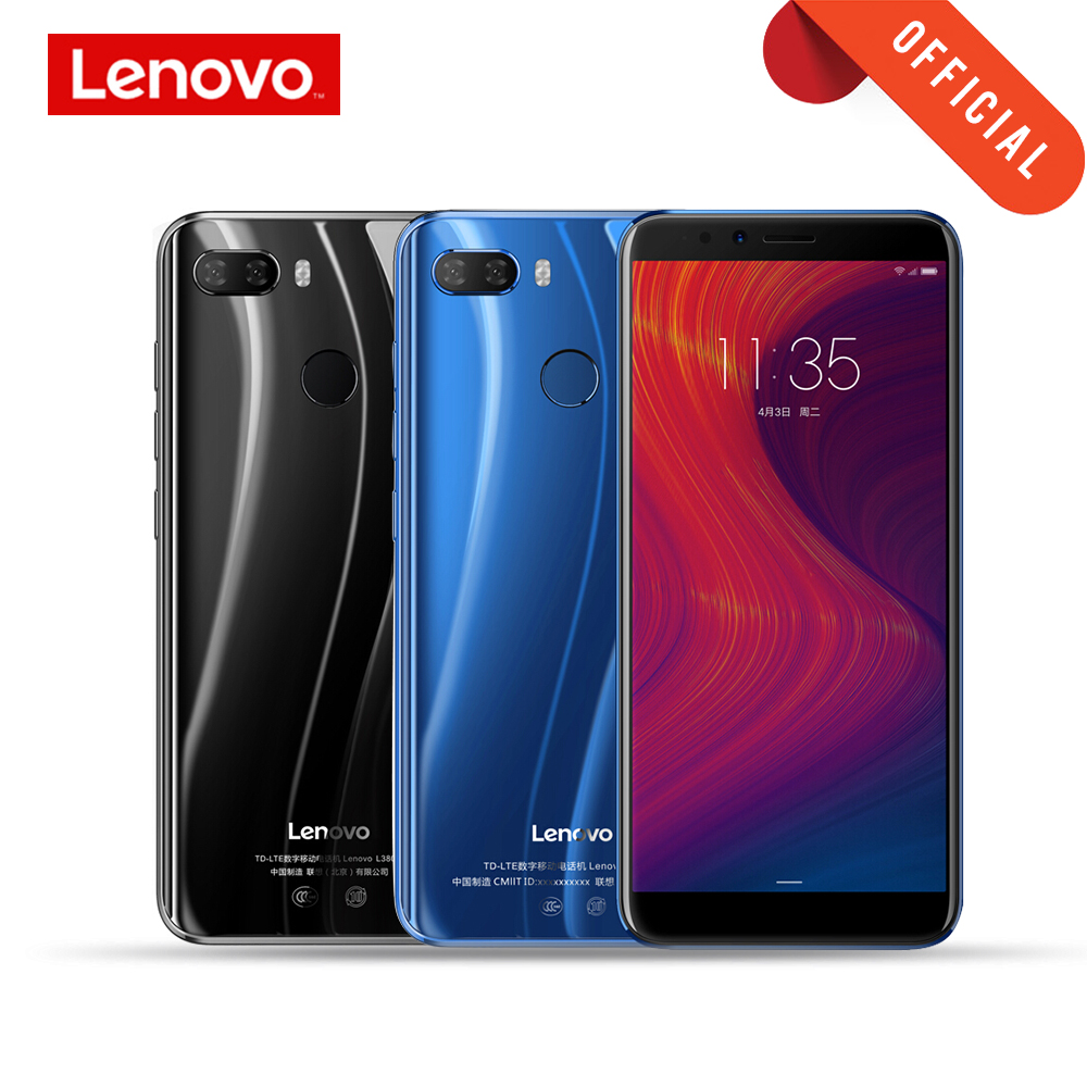 Lenovo Mobile Phone 3GB 32GB K5 Play Face ID 4G Smartphone 5.7 inch Snapdragon Octa Core Rear Camera 13MP 2MP Global Cellphone image