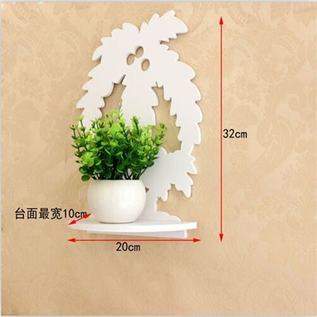 Moder style garden decorative wall shelf TV background decoration - Home Decor - Photo 1