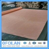 Copper Wire Mesh(200 mesh),Copper Woven Wire Cloth hotting sales 500*1000mm*2pcs