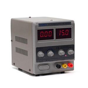 Image 3 - YIHUA 1502DD Mini Phòng Thí Nghiệm Nguồn Điện Có Thể Điều Chỉnh Kỹ Thuật Số 15V 2A 0.1V 0.01A Điều Chỉnh Điện Áp Sửa Chữa Điện Thoại DC nguồn Cung Cấp