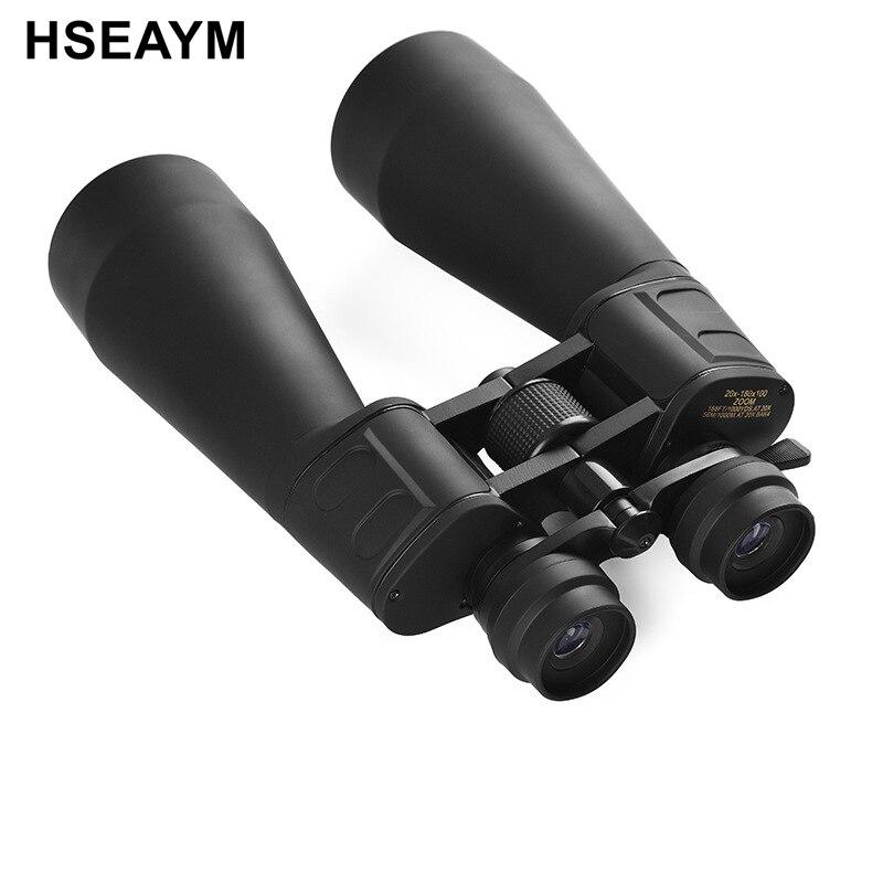 Zoom Binoculars Telescope Super View FMC Green Film BAK 4 Hunting Hiking Telescopio Binoculo  20-180X100 : 91lifestyle