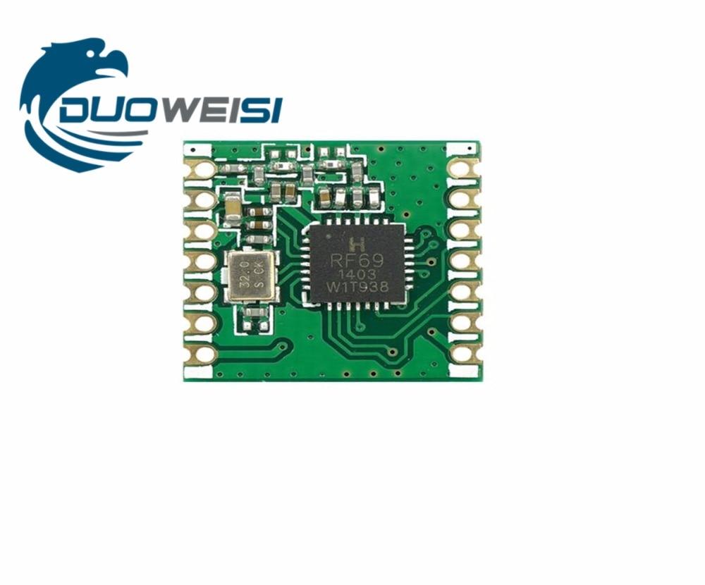 10pcs RFM69C RFM69CW 868MHZ GFSK Wireless Transceiver Module SX1231 13DBM