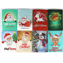 Christmas Cards DIY diamond painting christmas cards round kerstkaarten New arrivals