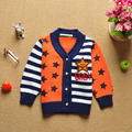 2017 Hot Sale Children Boy Sweater Stars and Strip Printed Sweater Pullover Autumn and Spring Children's Clothing 3 Color YY0776