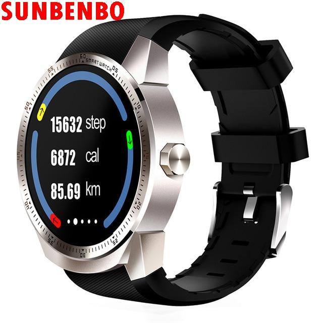 New K98H 3G Smart Watch Phone GPS Navigation Anti Lost Finder Smartwatch Heart Rate Sleep Monitoring