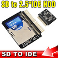 "SD to IDE 2.5"" 44 Pin Adapter SDHC/SDXC/MMC to IDE 2.5 inch 44pin Male Converter"