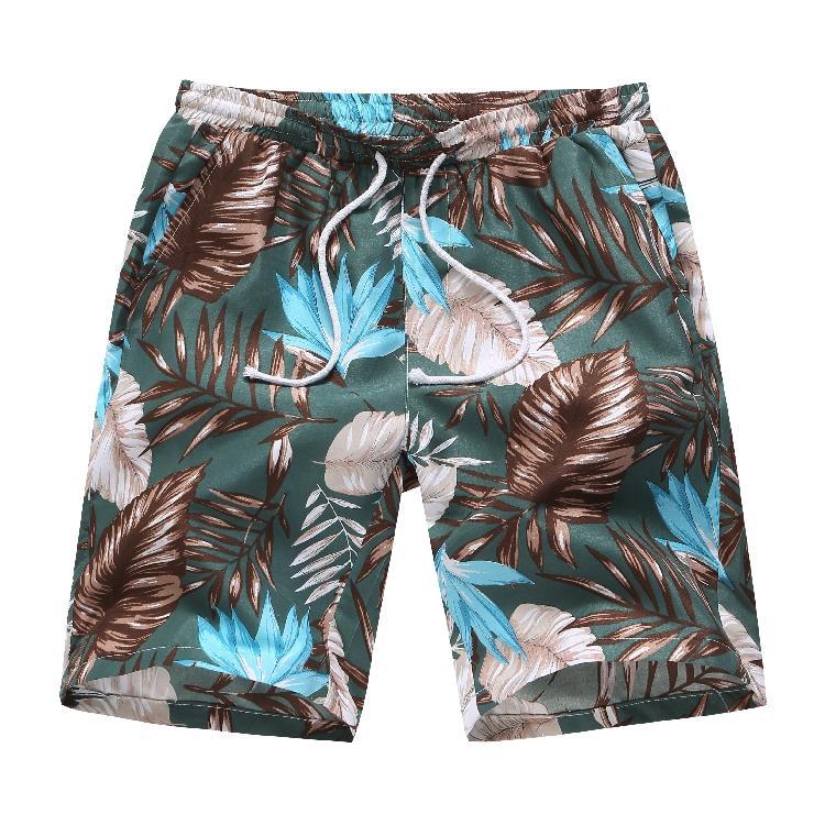 Surf & Beach Shorts For Men Casual Floral Hawaiian Men Shorts Flowers Fitness Clothing Loose Short Pants Men New