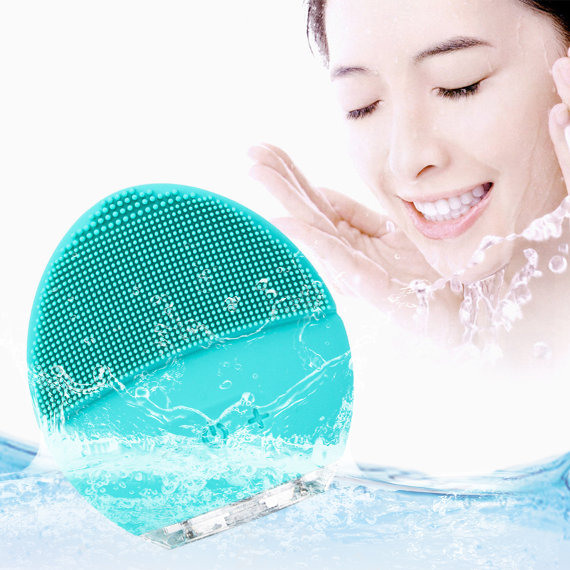 luna mini 2 Sonic Facial Cleansing Brush Silicone Electric Face Washing Brush USB Rechargeable Skin Massageluna mini 2 Sonic Facial Cleansing Brush Silicone Electric Face Washing Brush USB Rechargeable Skin Massage