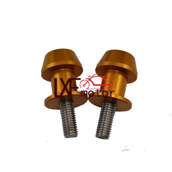 Free Shipping Motorcycle Stands Screws CNC Aluminum Swingarm Spools Slider For Ducati 999/S/R Hypermotard796 8MM FREE SHIPPING
