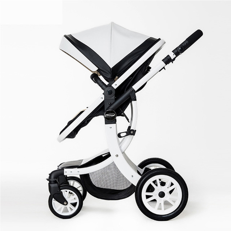 Baby Stroller 2 in 1 With Car Seat High Landscope Folding Baby Carriage For Child From 0-3 Years Prams For Newborns baby stroller high landscape trolley baby car wheelchair 2 in 1 prams for newborns baby portable bassinet folding baby carriage