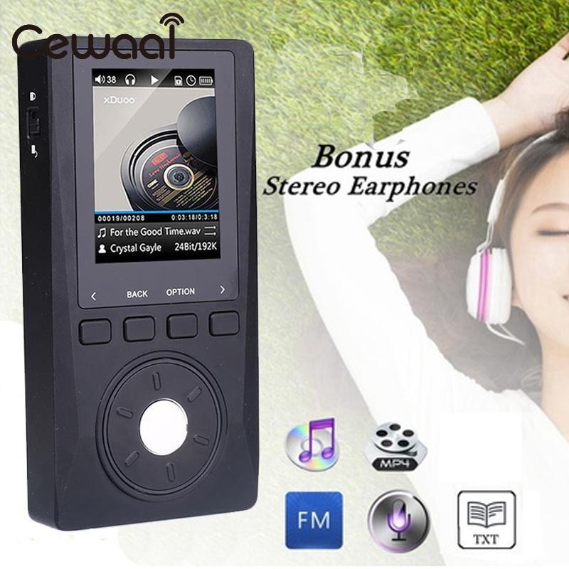 XDUOO X10 Original Portable High Resolution Lossless DSD HIFI Music Music Player DAP Support Optical Output MP4 MP3 Player