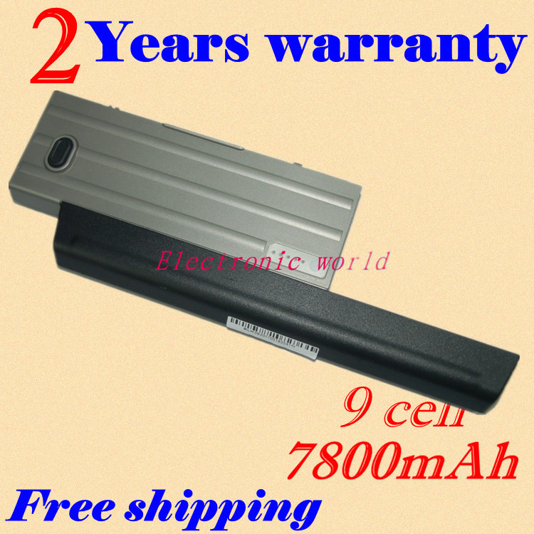 JIGU new 7800mah  battery for Dell Latitude D620 D630 Latitude D631 KD491 KD492 wholesale new 6 cells laptop battery for dell latitude d620 d630 d630c d631 series 0gd775 0gd787 0jd605 0jd606 free shipping