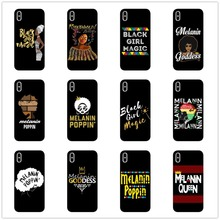 Soft Silicone Phone Cover For Coque iPhone X 8 8Plus 6 6S Plus 5 11 11PRO MAX SE 2bunz Melanin Poppin Aba Protective Case Shell цены онлайн