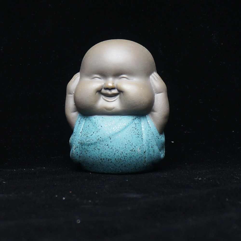 Фигурка монаха керамические украшения фигурка буддийского домашние