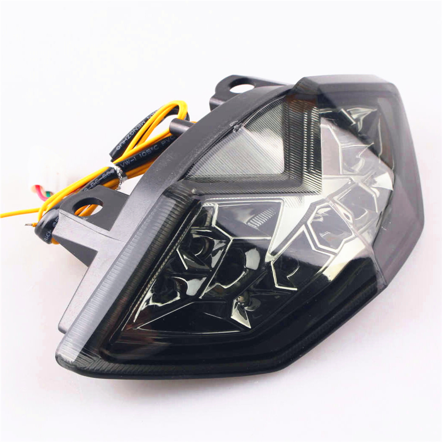 Integrated LED Turn Signals  Tail Light  For KAWASAKI Z1000 2010-2013  Motorcycle Accessories BlackIntegrated LED Turn Signals  Tail Light  For KAWASAKI Z1000 2010-2013  Motorcycle Accessories Black