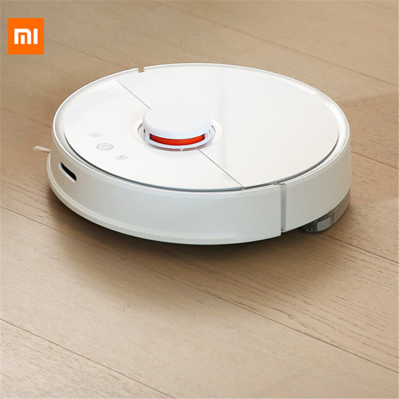 [ES Stock] 2000Pa Xiaomi S5 Vacuum Cleaner Robot 2 Mopping Sweeping Smart Control Vacuum Cleaner Robot 2