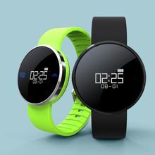 Мониторинг пульса умные часы Android SmartWatch умный Браслет Шагомер Браслет Bluetooth часы деятельность Фитнес