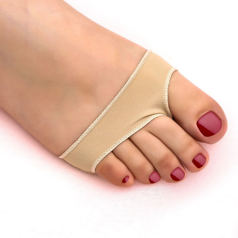 1 Piar/2PCS Metatarsal Cushion Silicone Gel Pad Ball Of Foot Pain Forefoot Pads Shoe Insole Toe protector Foot Care Tool