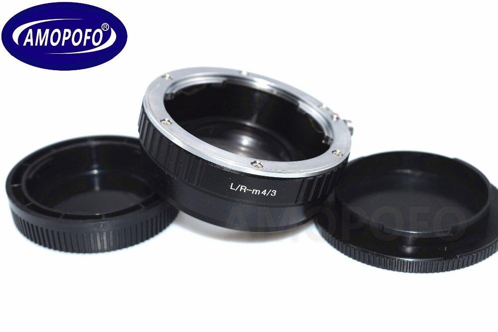 Adaptateur de vitesse de réducteur Focal LR-M4/3 pour objectif de montage Leica R L/R pour Panasonic DMC-G1, DMC-G2, DMC-G3, DMC-GH1