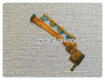 C6602 Power ON/OFF Button Ribbon For Sony Xperia Z L36H C6603 Power Volume Flex Cable Mic Microphone +tracking image