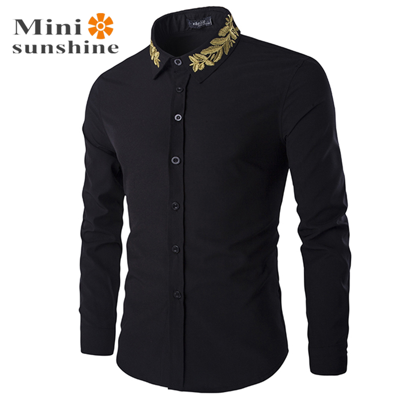 Casual shirts long sleeve tuxedo mens clothing clothes for Expensive mens dress shirts brands