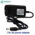AC100-220V to DC12V 3A Led Power Adapter Switch Transformer LED Driver for smd 5050 3528 5630 rgb led strip light with EU Plug