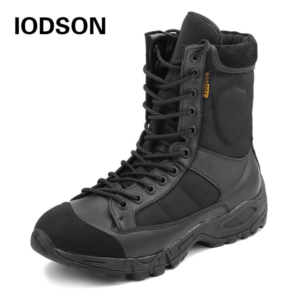 New Brand Outdoors Winter Snow Boot Men's Military Tactical Boot Athletic Combat Ankle Boot Breathable Shoes Size 38-45 JR-633