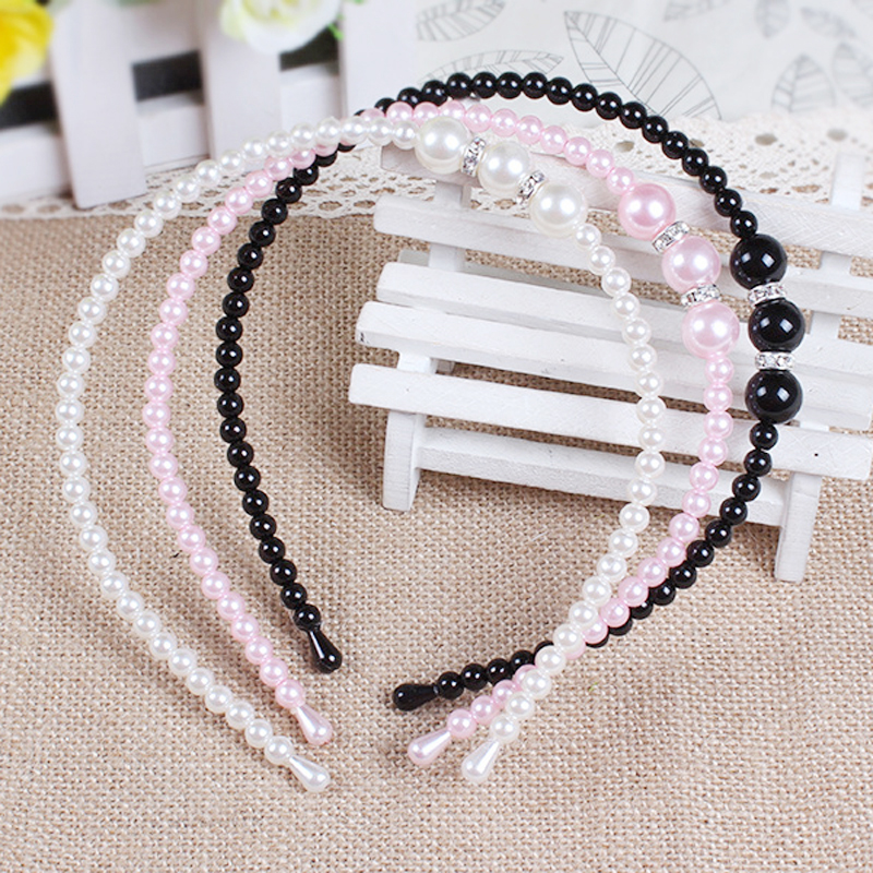 1 PC Kids Pearl Bezel with Rhinestone Hairbands Girls Pearl Headbands Hair Pins Hair Accessories Headscarf for Girl Headband1 PC Kids Pearl Bezel with Rhinestone Hairbands Girls Pearl Headbands Hair Pins Hair Accessories Headscarf for Girl Headband