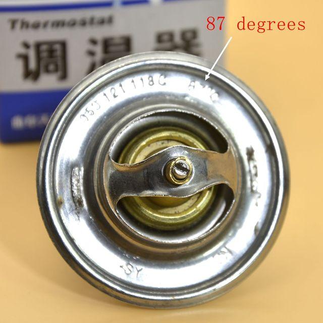 OEM 87 Degrees Engine Coolant Thermostat Temperature Sensor For VW Jetta Golf Bora Passat B5 Polo Beetle Caddy 050 121 113 C