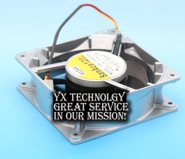 SANYO New 12CM 109L1224G101 24V 0.5A 12038 inverter cooling fan for 120*120*38mm