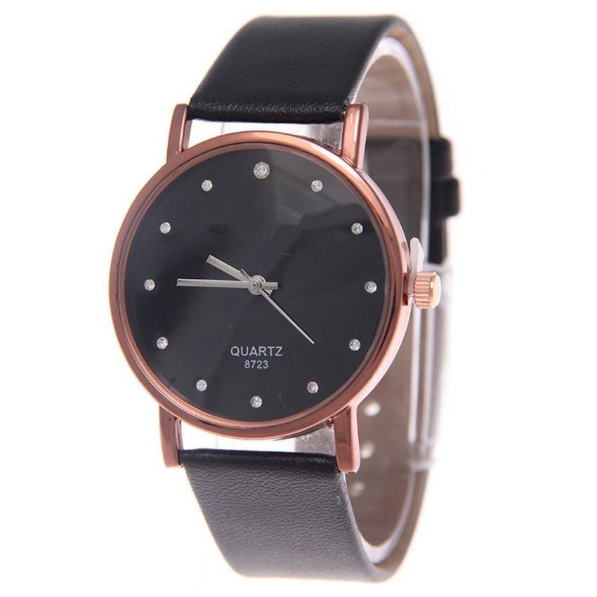 2017 Fashion Women Watch Braided Handmade Casual Leather Band Women Elegance Diamond Women Watch Quartz Wrist Watch Reloj Mujer
