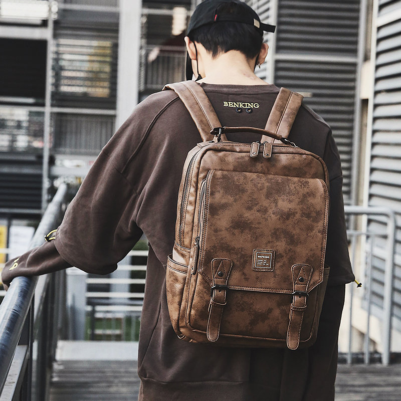 Tidog Korean Version Of Young College Students Backpack