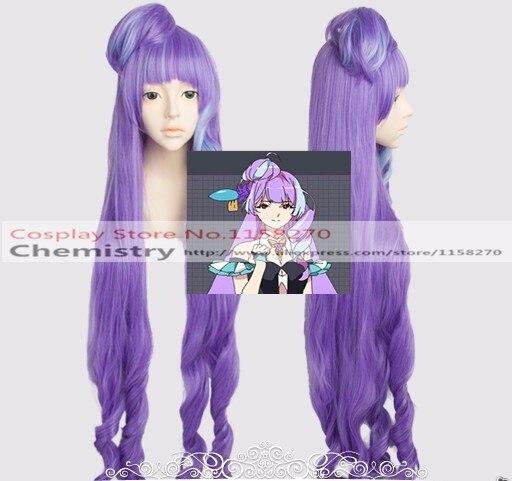 Macross Delta Mikumo Guynemer Cosplay hairwear
