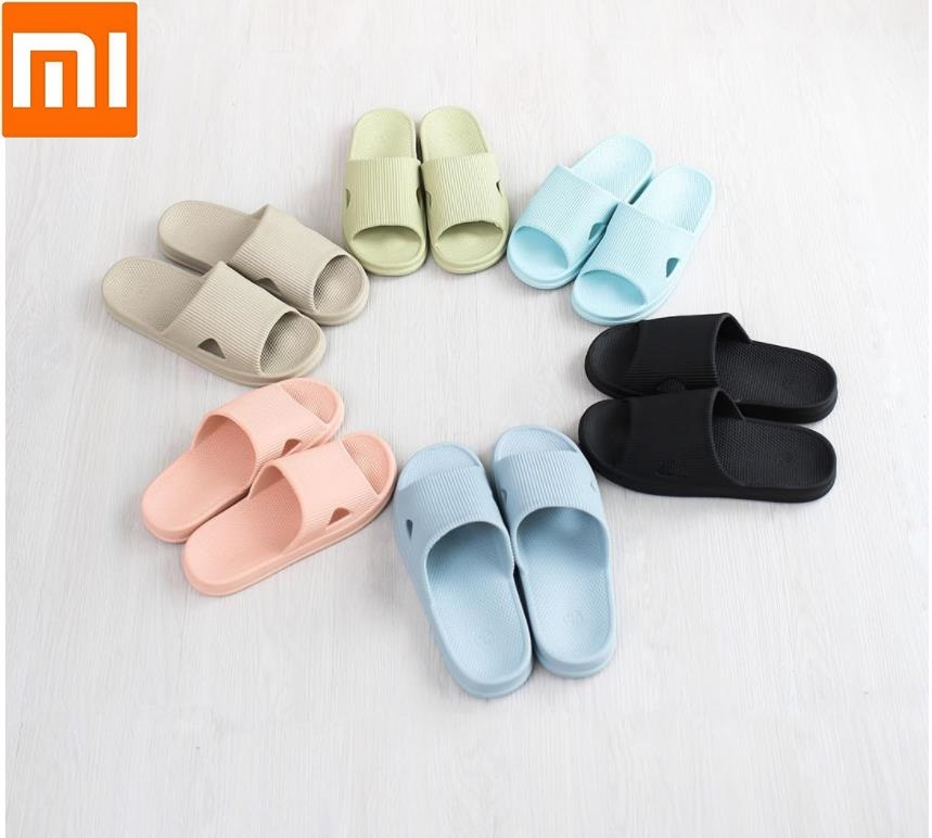 Xiaomi One cloud High Qualit Slippers Summer Soft Flip Flops Sandals Casual Shoes Non-slip for Women Ladies Man(China)
