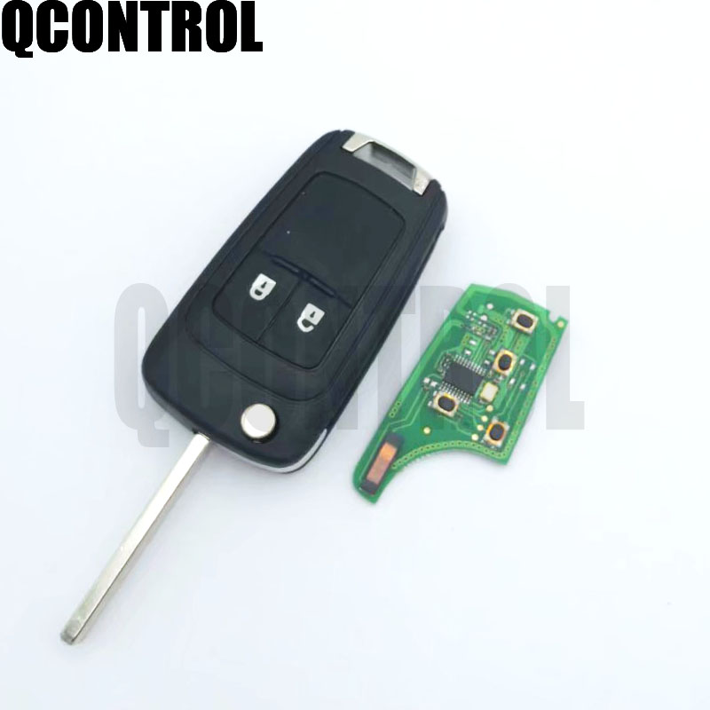 Image 2 - QCONTROL 2/3/4 Buttons Car Remote Key DIY for OPEL/VAUXHALL 433MHz for Astra J Corsa E Insignia Zafira C 2009 2016-in Car Key from Automobiles & Motorcycles