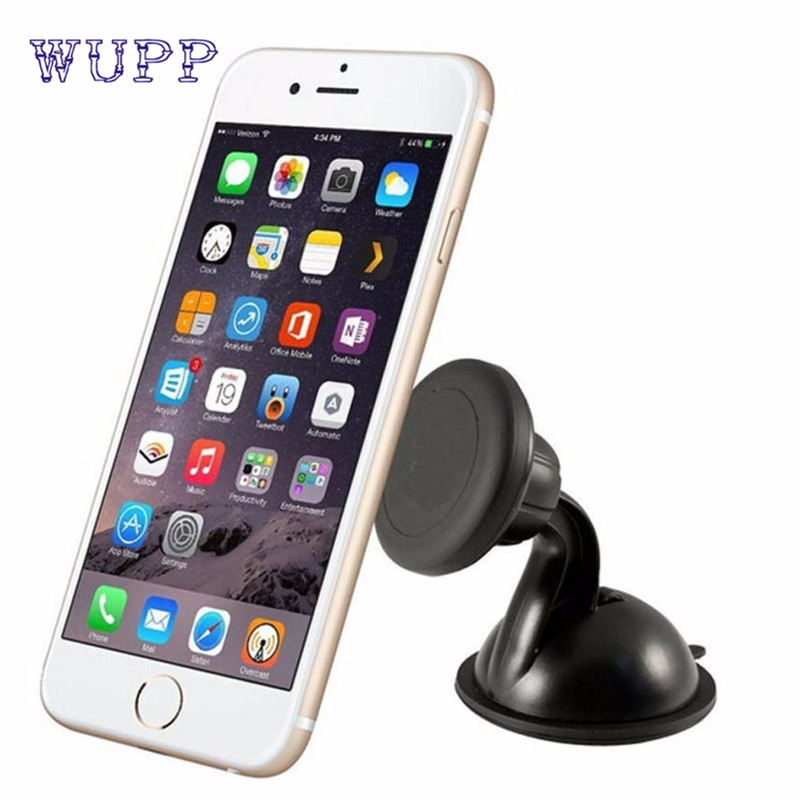 2017 car-styling Auto Universal 360 degrees Car Mount Ball Sticky Magnetic Stand Holder For Cell Phone GPS June29
